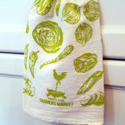 Portland Farmer's Market Veggie Kitchen Towel