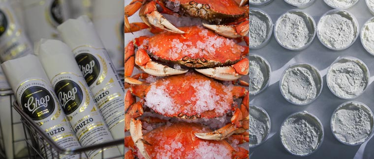 Meat, Seafood, Cheese, and more.